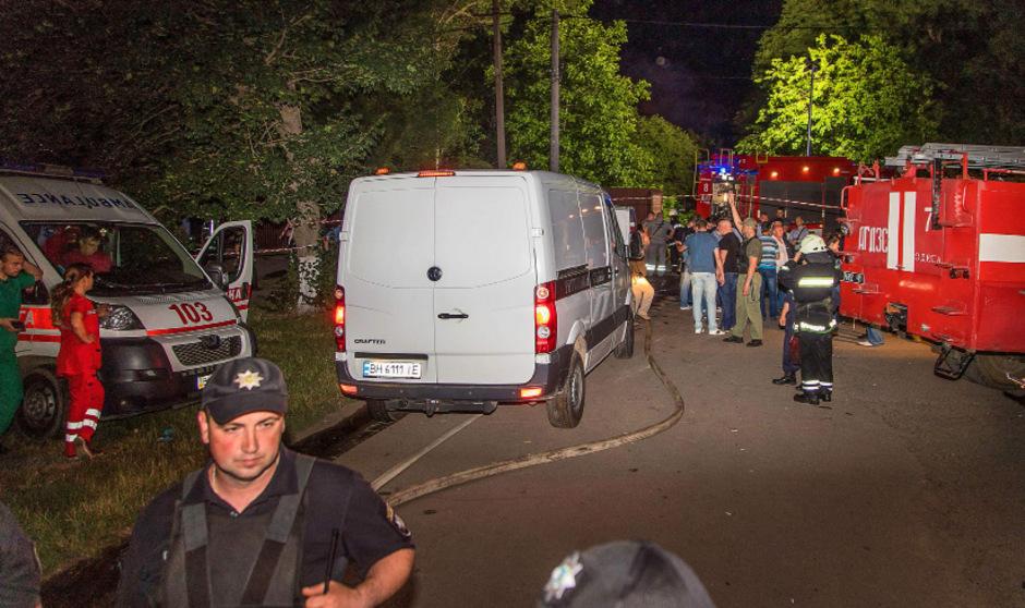 Die Einsatzkräfte konnten nicht mehr alle Opfer des Brandes retten.