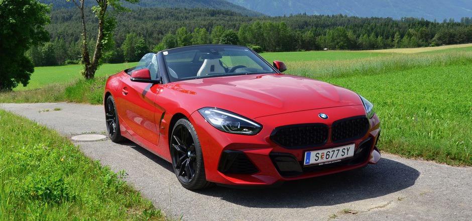 Schnittig, sportlich und edel: Der BMW Z4 vereint eine Vielzahl automobiler Tugenden.