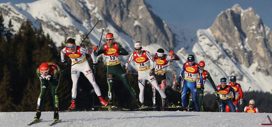 Die Nordische Skiweltmeisterschaft in Seefeld war deutlich teurer als geplant.