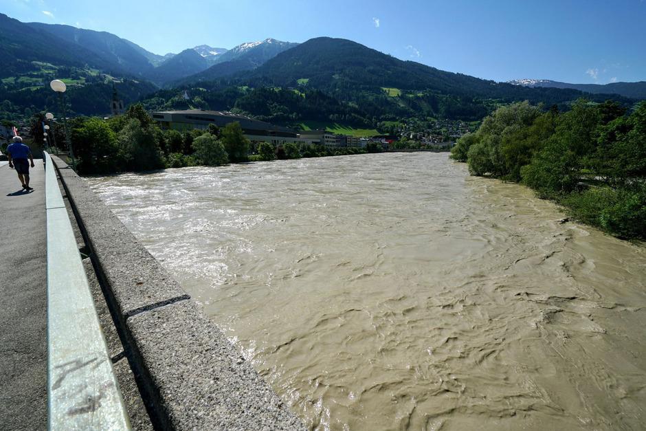 Die Barbarabrücke in Schwaz.