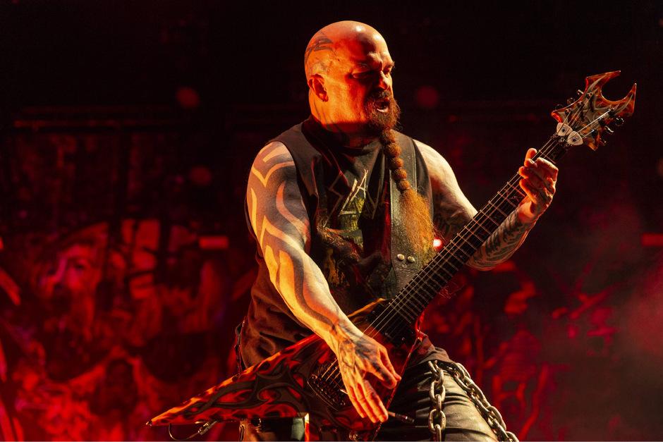 """Ein Abschied und zwei Comebacks: Die US-Band """"Slayer"""" um Gitarrist Jerry King gibt heute ihr letztes Österreich-Konzert."""