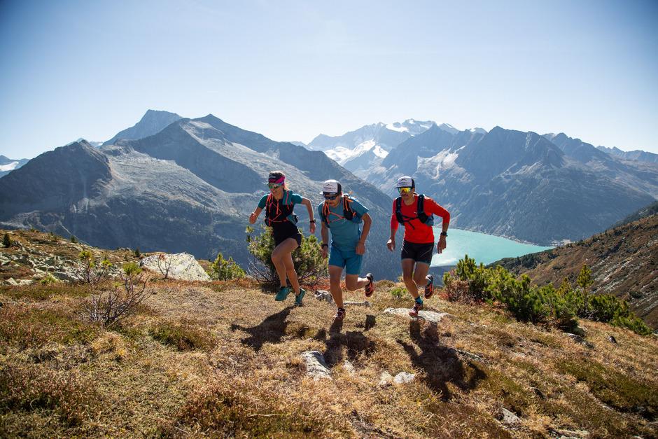 Beim Skyrace 3000 Schlegeis erwartet die vielen Teilnehmer eine anspruchsvolle Strecke, aber auch eine eindrucksvolle Bergkulisse.