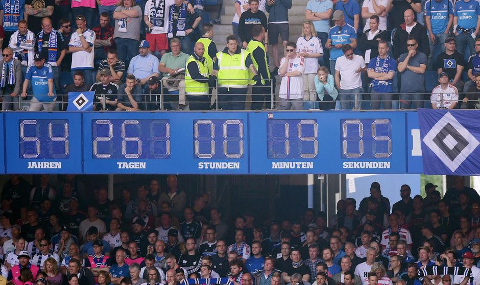 Nach fast 55 Jahren blieb die Stadionuhr in Hamburg stehen.
