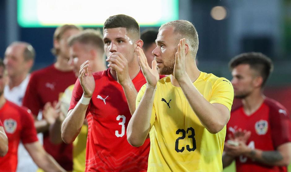 Goali Alexander Schlager und Co. hinterließen gegen Frankreich einen starken Eindruck.