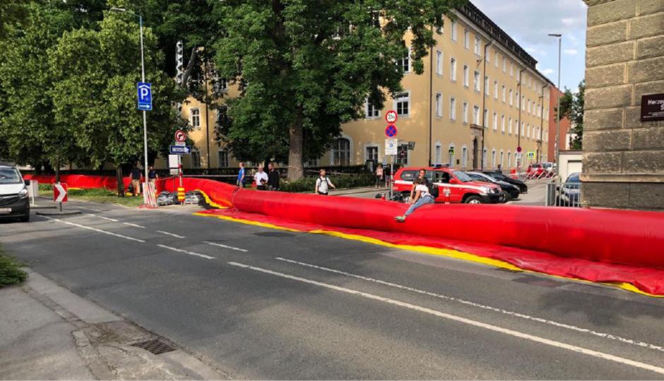 Zu dem Unfall kam es in der Herzog-Otto-Straße (Symbolfoto).