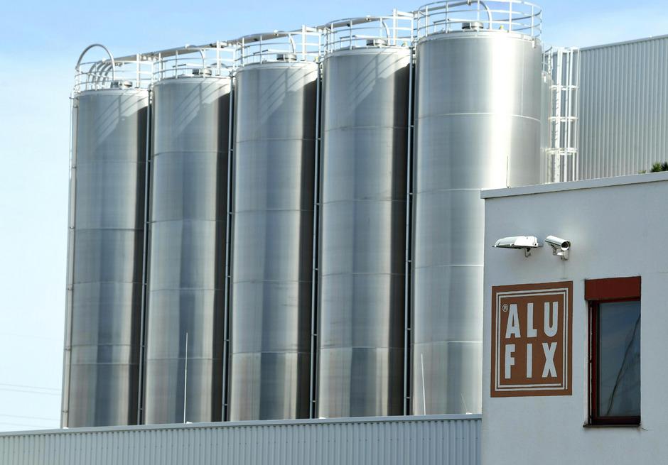 Das Werk der niederösterreichischen Folienfirma Alufix.