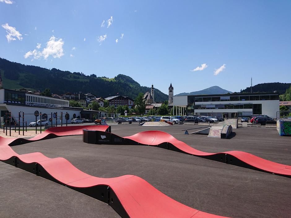 Heute um 16 Uhr wird der neue Funpark offiziell eröffnet.