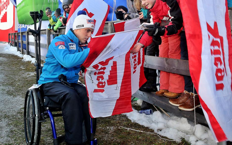Ein wahrer Kämpfer: Ex-Skispringer Lukas Müller.