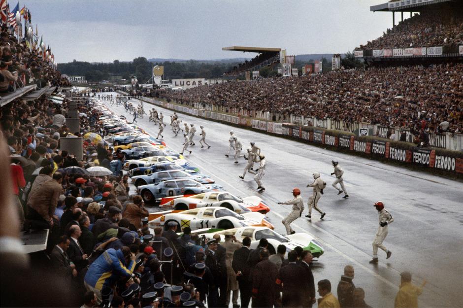 Le Mans als Zuschauer-Magnet: Das galt vor 50 Jahren ebenso wie heute noch.