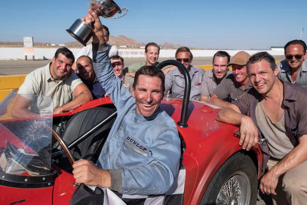 Oscar-Preisträger Christian Bale in Le Mans 66.