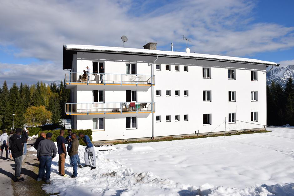 Im Flüchtlingsheim Bürglkopf werden jene untergebracht, die abgeschoben werden sollen.