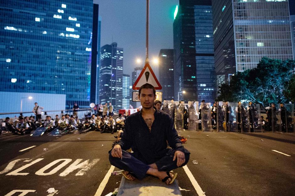 Heftige Proteste hatten die geplanten Gesetze in Hongkong ausgelöst.