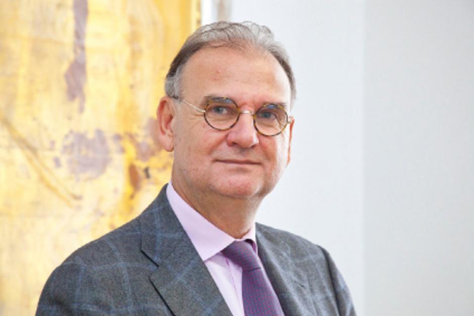 Rektor der Medizinischen Universität Wolfgang Fleischhacker.
