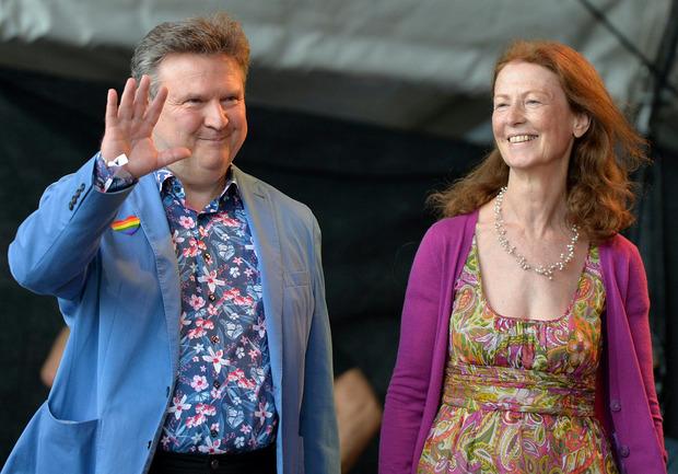 Auch Wiens Bürgermeister Michael Ludwig (SPÖ) und seine Frau Irmtraud waren mit von der Partie.