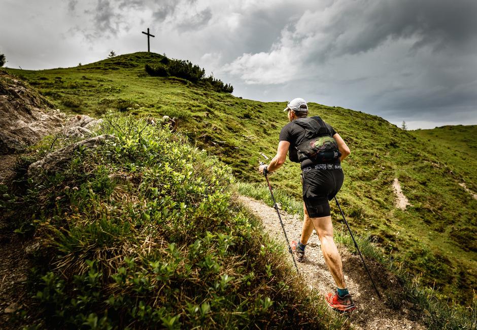 Nicht nur die Läufer hatten Freude am Bewerb, sondern auch die Wanderer.