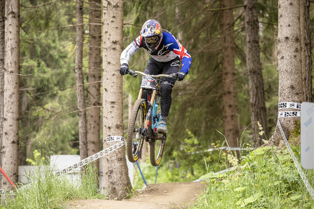 Brook MacDonald holte sich den Downhill-Sieg.