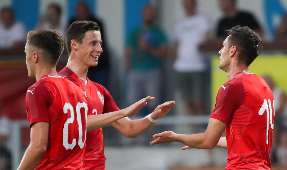 Der Tiroler Bremen-Legionär Marco Friedl will mit seinen ÖFB-Teamkollegen über Punkte jubeln.