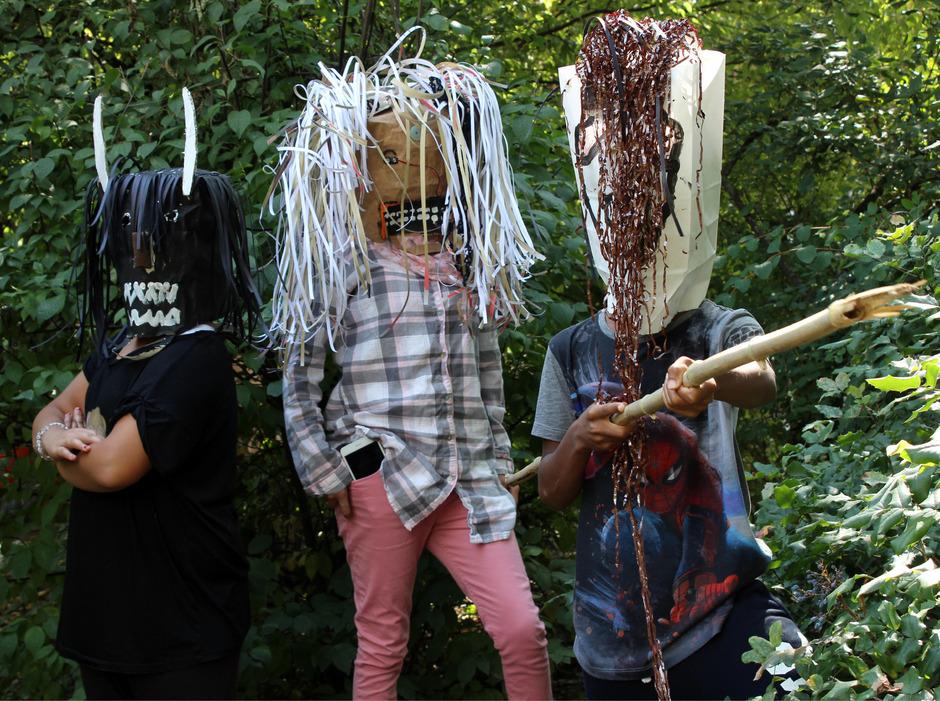 """3000 junge Kreative nehmen die Aktivitäten des """"bilding"""" wahr, u.a. in der Sommerakademie."""