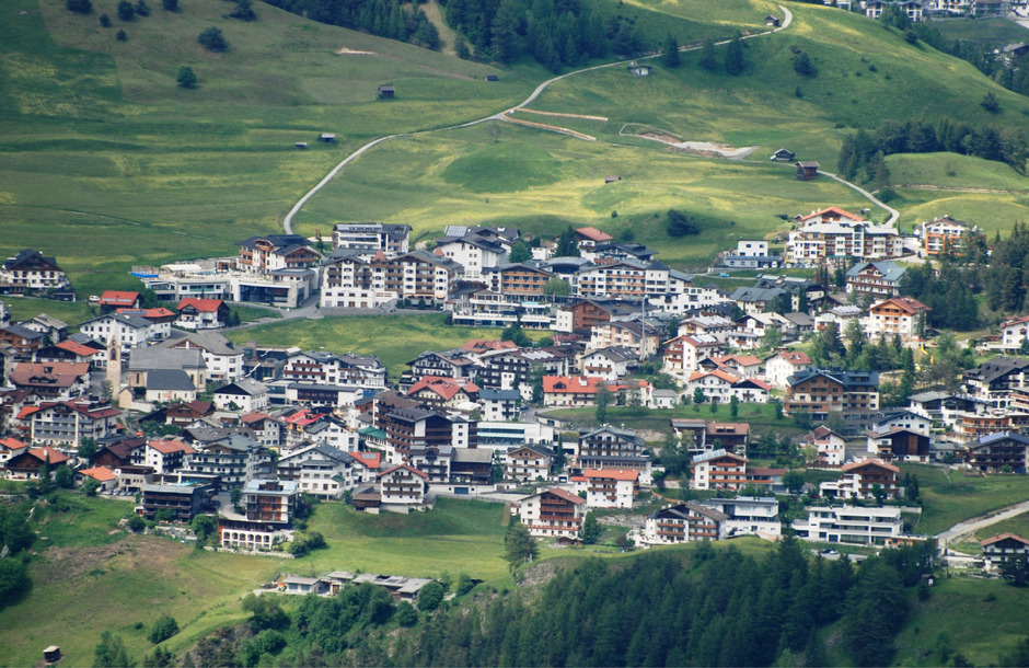 Serfaus ist mit mehr als 7000 Gästebetten zum nächtigungsstärksten Tourismusort im Obergricht gewachsen.