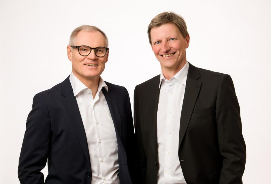 Die beiden Raiba-Reutte-Vorstände Ludwig Strauß (l.) und Wolfgang Hechenberger (CEO) führen eine strikte Umorganisation durch.