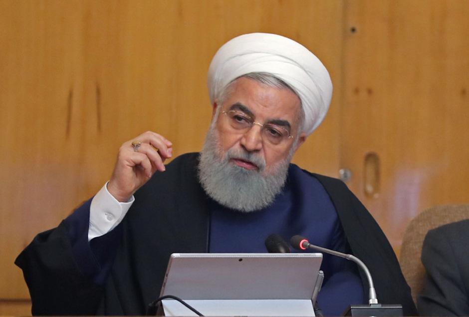 Präsident Hassan Rouhani.