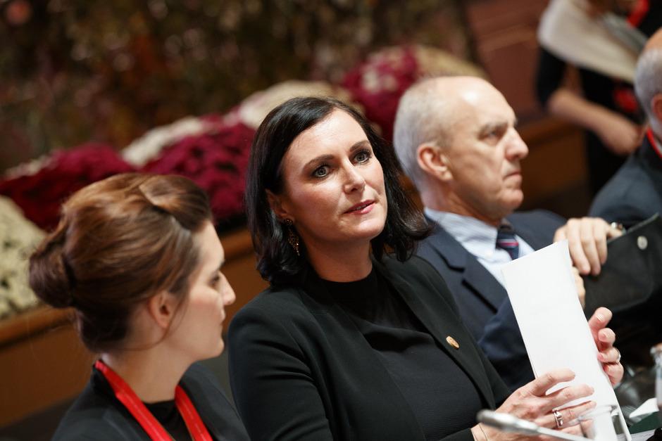 Ex-Umweltministerin Elisabeth Köstinger (ÖVP). Unter ihrer Agenda wurde der Entwurf eingereicht.