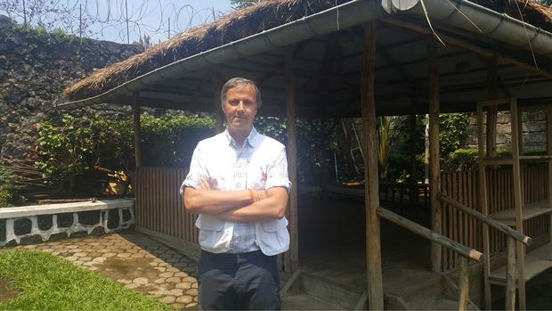 """""""Es war mein intensivster Einsatz für Ärzte ohne Grenzen. Es gab gute, aber auch viele schlimme Momente"""", erzählt Marcus Bachmann (Ärzte ohne Grenzen)."""