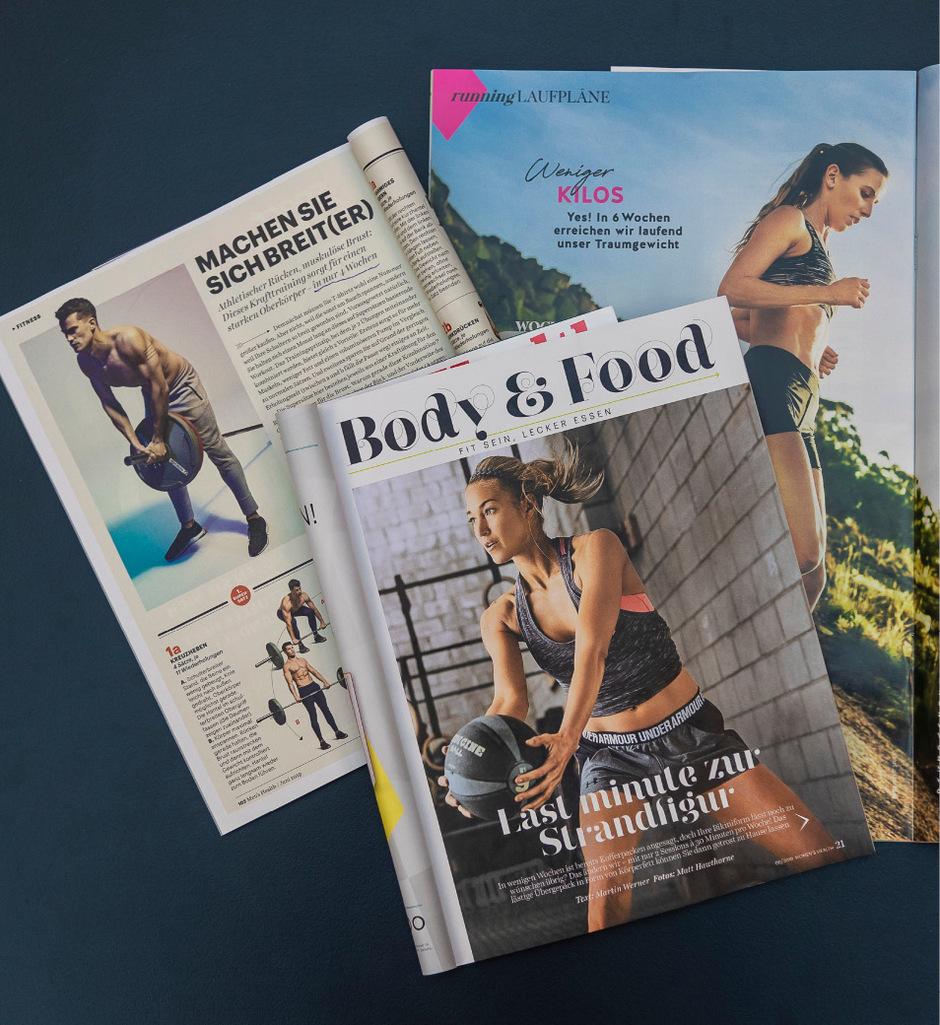 Die Versprechen der unterschiedlichen Fitness-Zeitschriftenklingen oft verlockend.