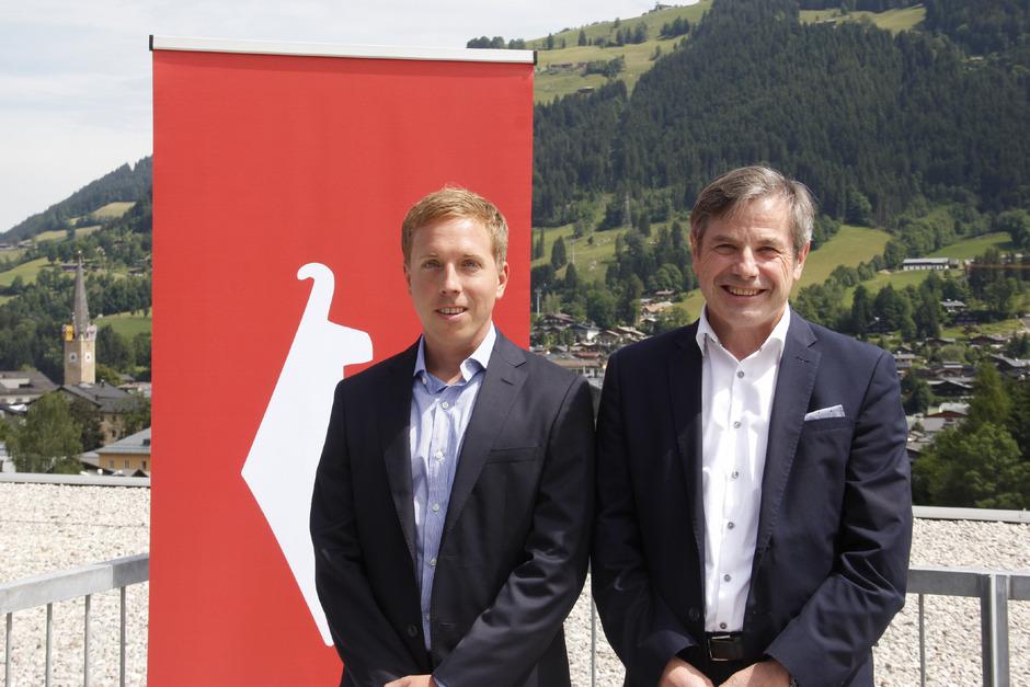 Die Neuen bei der Bergbahn Kitzbühel: Peter Schörghofer (l.) und Anton Bodner.