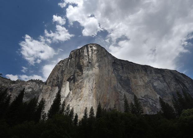 Der El Capitan im Yosemite National Park.