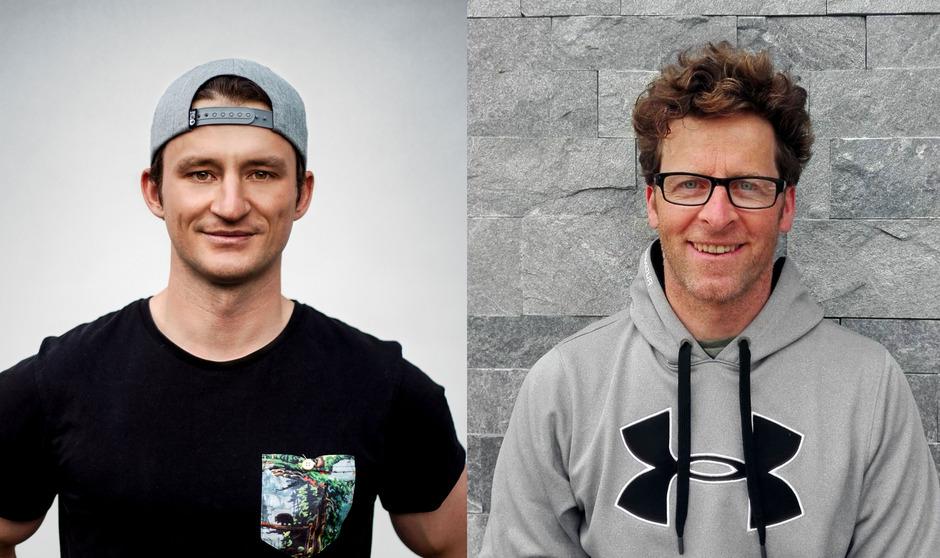 Patrick Cinca (l.) ist für die Freestyler zuständig, Hansjörg Berger übernimmt die Parallel-Abteilung.