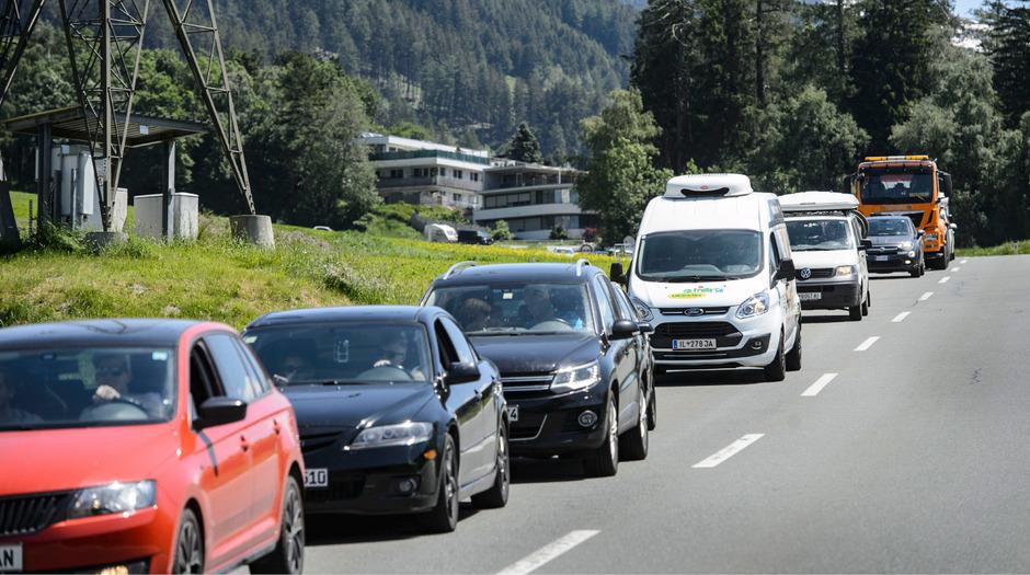 Die Pfingstreisewelle hatte zuletzt für erhebliche Staus auf Tirols Straßen gesorgt.