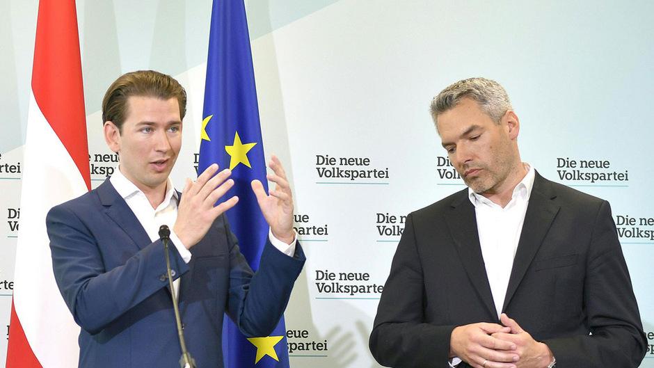 ÖVP-Generalsekretär Karl Nehammer verteidigt die Spenden für den Wahlkampf von Ex-Kanzler Sebastian Kurz.