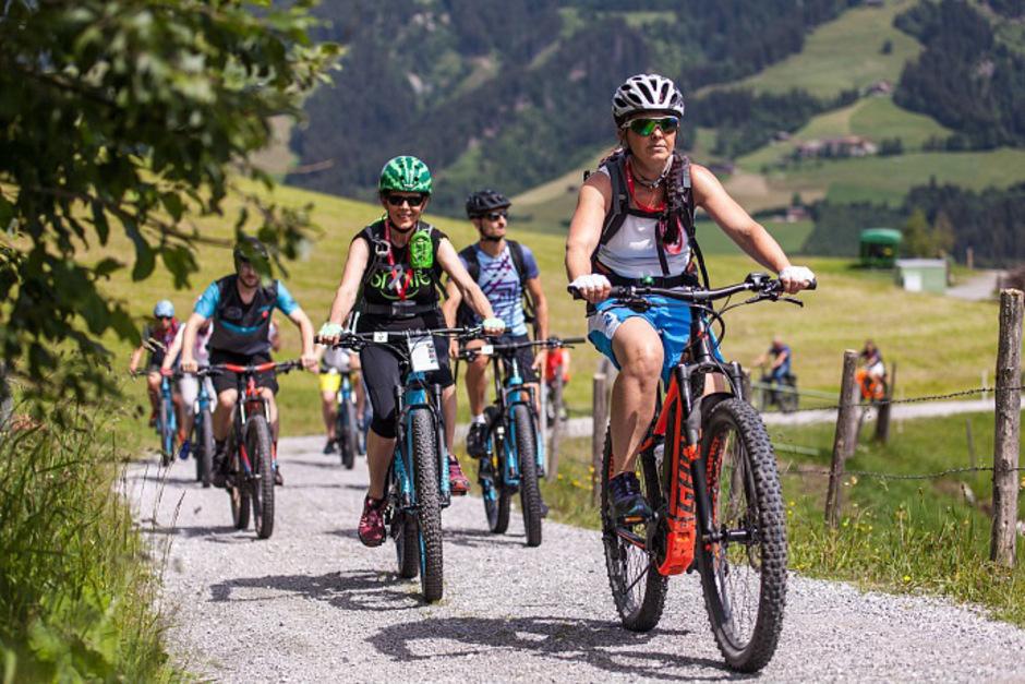Beim E-Bike-Festival kann man sich über E-Bikes informieren, sie aber auch bei Touren selbst ausprobieren.