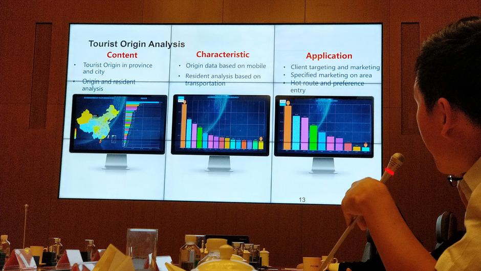 Bei CTrip im Big-Data-Center in Shanghai werden sämtliche Tourismusdaten gesammelt und analysiert.