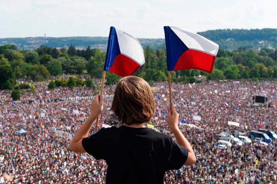 Es war der größte Protest seit 1989.