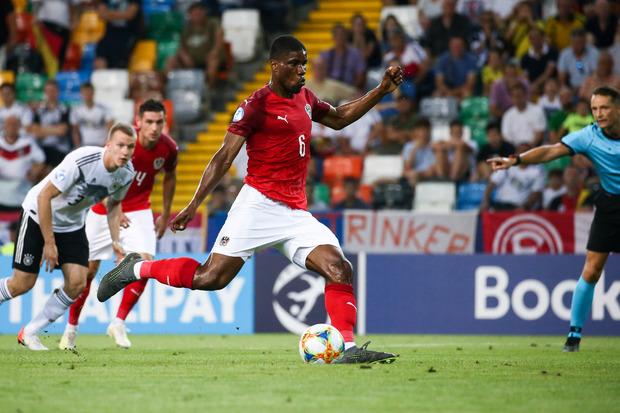 Kevin Danso erzielte per Elfmeter den Ausgleichstreffer für das ÖFB-Team.