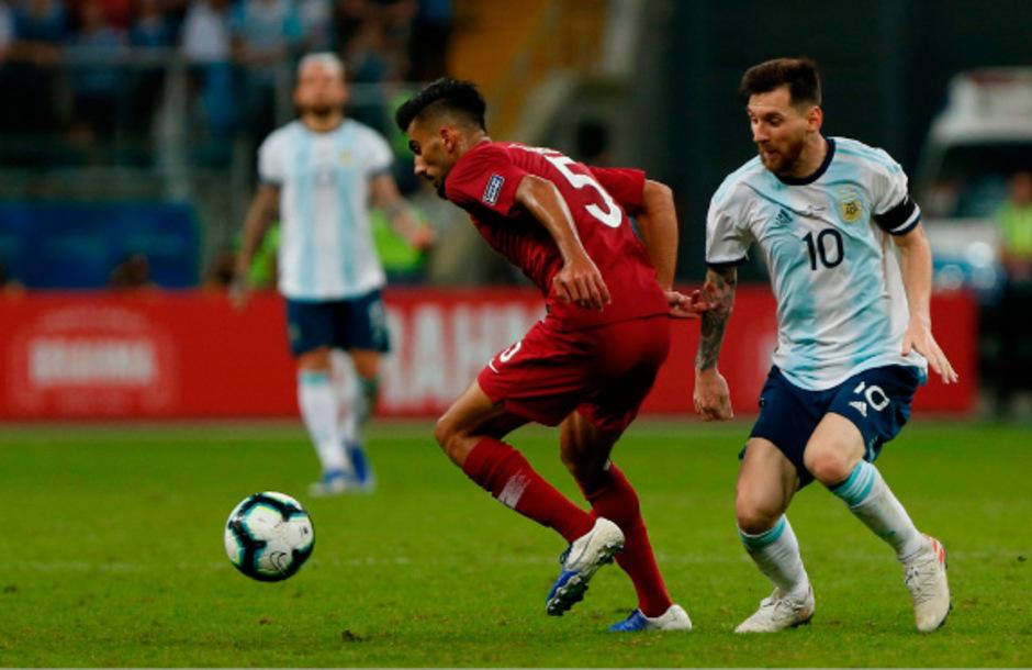 Messi und Co. stehen im Viertelfinale.