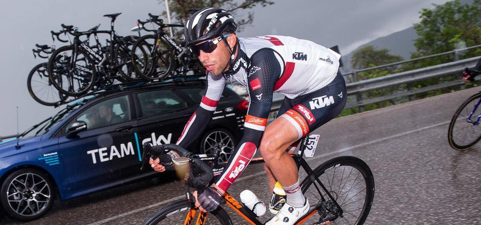 Der Italiener Nicolas Dalla Valle vom Tirol Cycling Team belegte beim U-23-Giro Rang zwei in der Punktewertung.