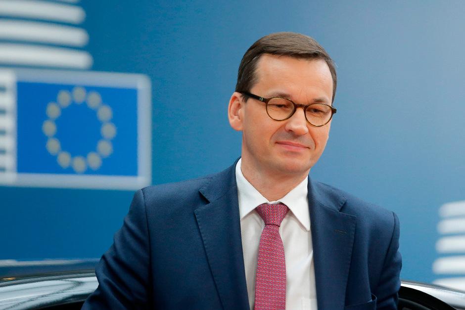 Der polnische Regierungschef Mateusz Morawiecki.