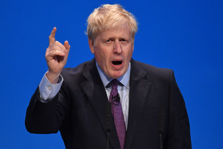 Johnson droht weiter mit einem No-Deal-Brexit.