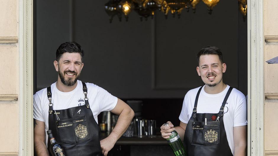 Eine Bar und zwei Barkeeper der Extraklasse: Mit Damir Busic und Dave Saremba hat das Liquid Diary am Adolf-Pichler-Platz in Innsbruck die aktuell besten Cocktailmixer Österreichs