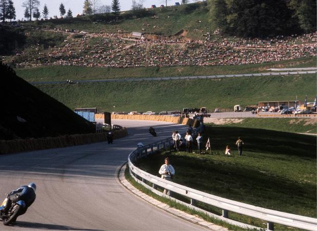 Bis 1994 machte die Motorrad-WM am Salzburgring Station.