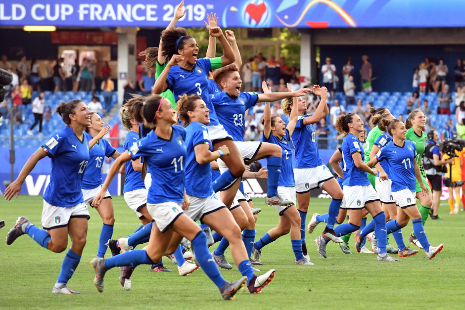 Die Italienerinnen stehen im Viertelfinale der WM.