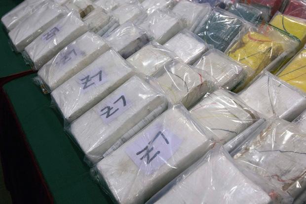 Immer wieder werden tonnenweise Kokain beschlagnahmt. (Symbolbild)