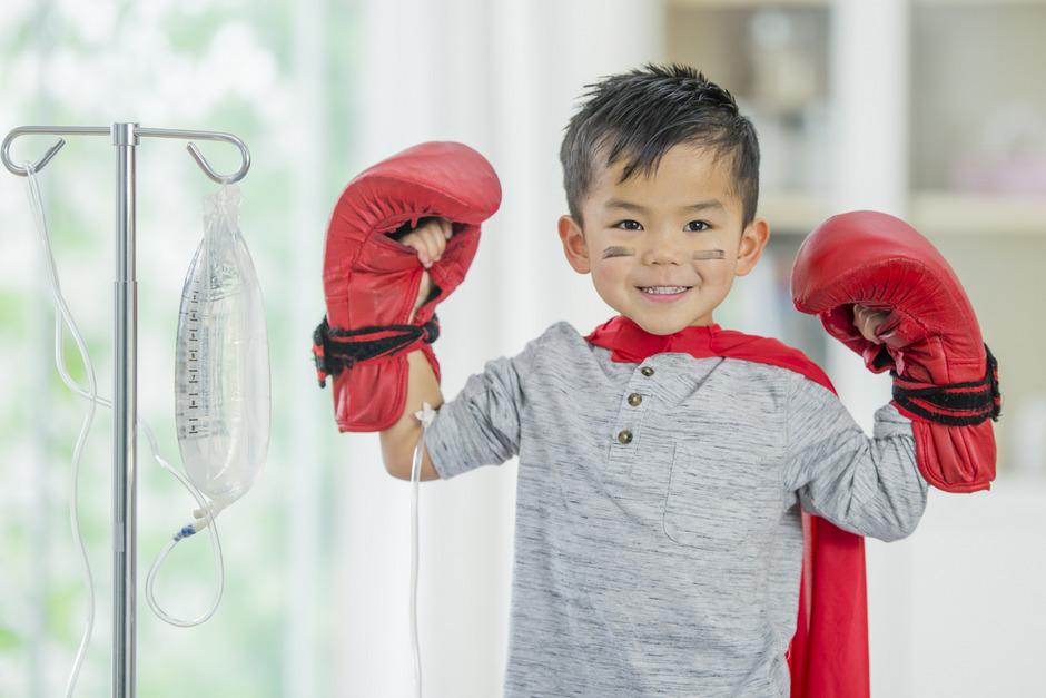 80 Prozent der Kinder können von ihrer Krebskrankheit geheilt werden. Sie sind dann Survivors.