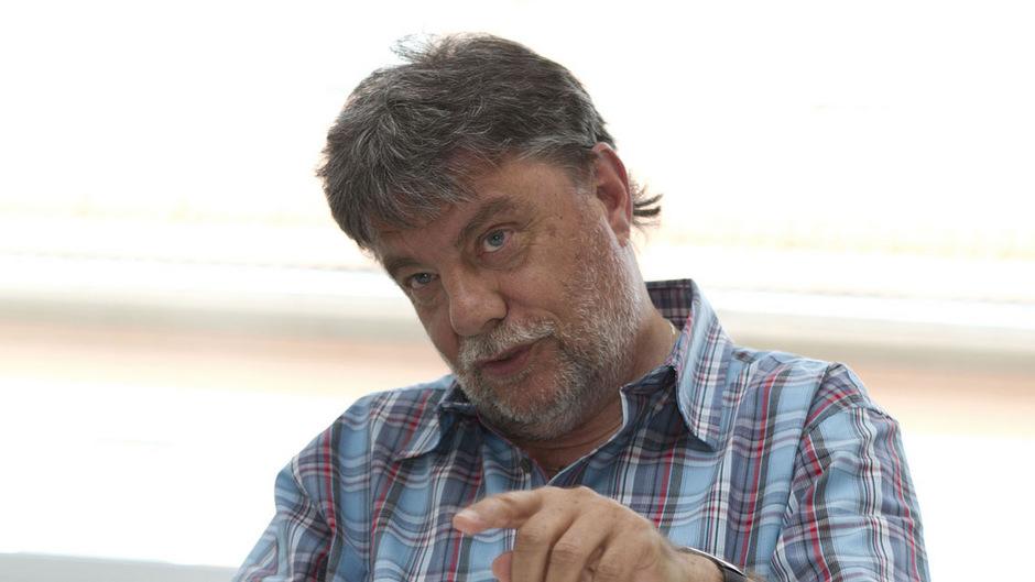 Transitforum-Onmann Fritz Gurgiser.
