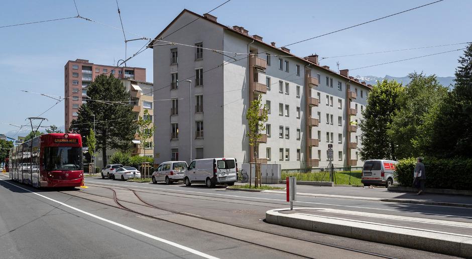 Der Luxemburger Immobilienfonds JP verdient mit ehemaligen Buwog-Häusern gutes Geld: Jüngst wurde in Innsbruck dieser Wohnblock verkauft.