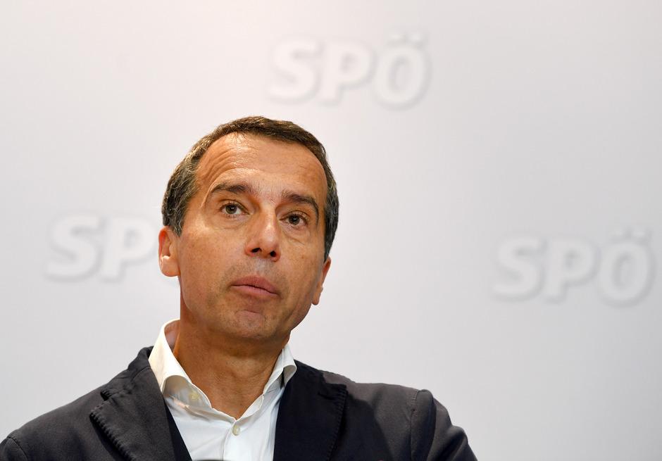 SPÖ-Altkanzler Christian Kern.