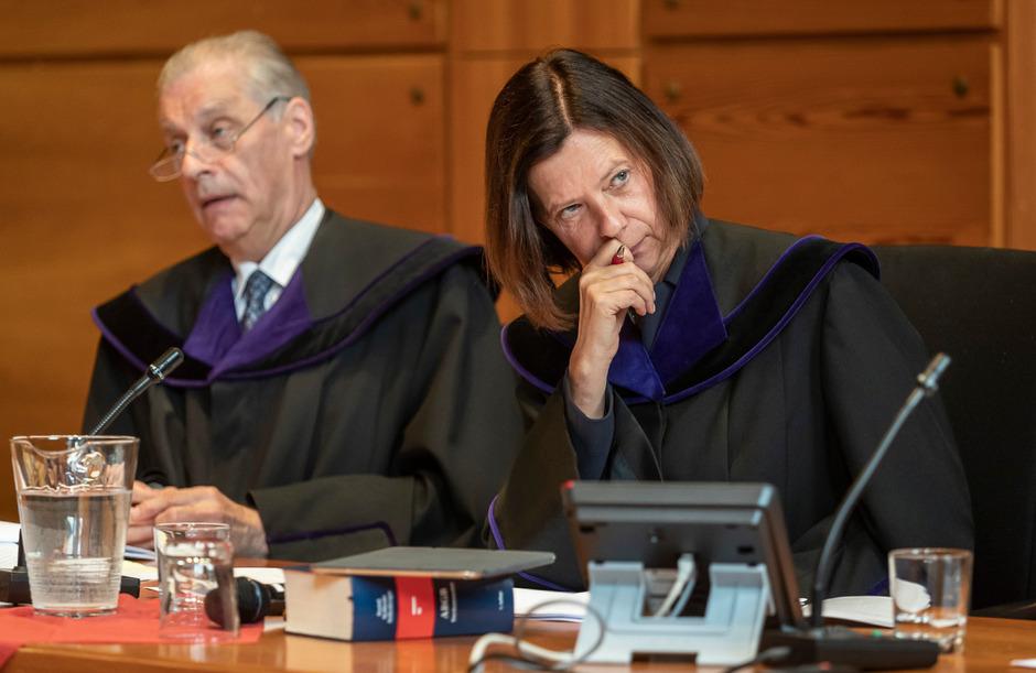 Auch OGH-Präsidentin Elisabeth Lovrek und Hubertus Schumacher (OGH Liechtenstein) verlangten die Argumente Überlegungen ab.